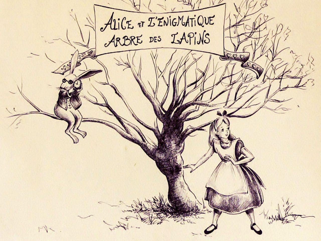 Alice et l'énigmatique arbre des lapins 2014