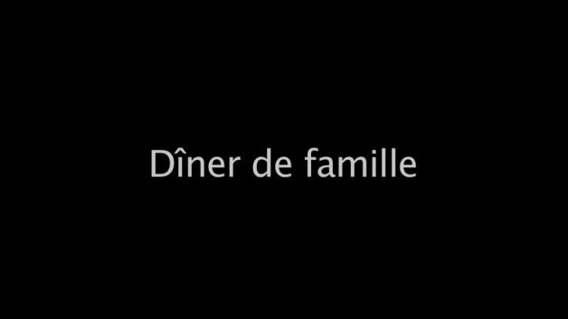 Diner de famille 2012